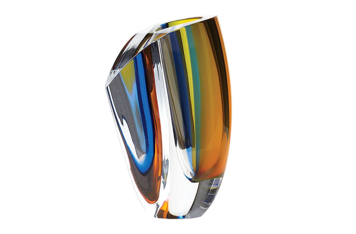 Obegi Home Accessories Kosta Boda Mirage Crystal Vase