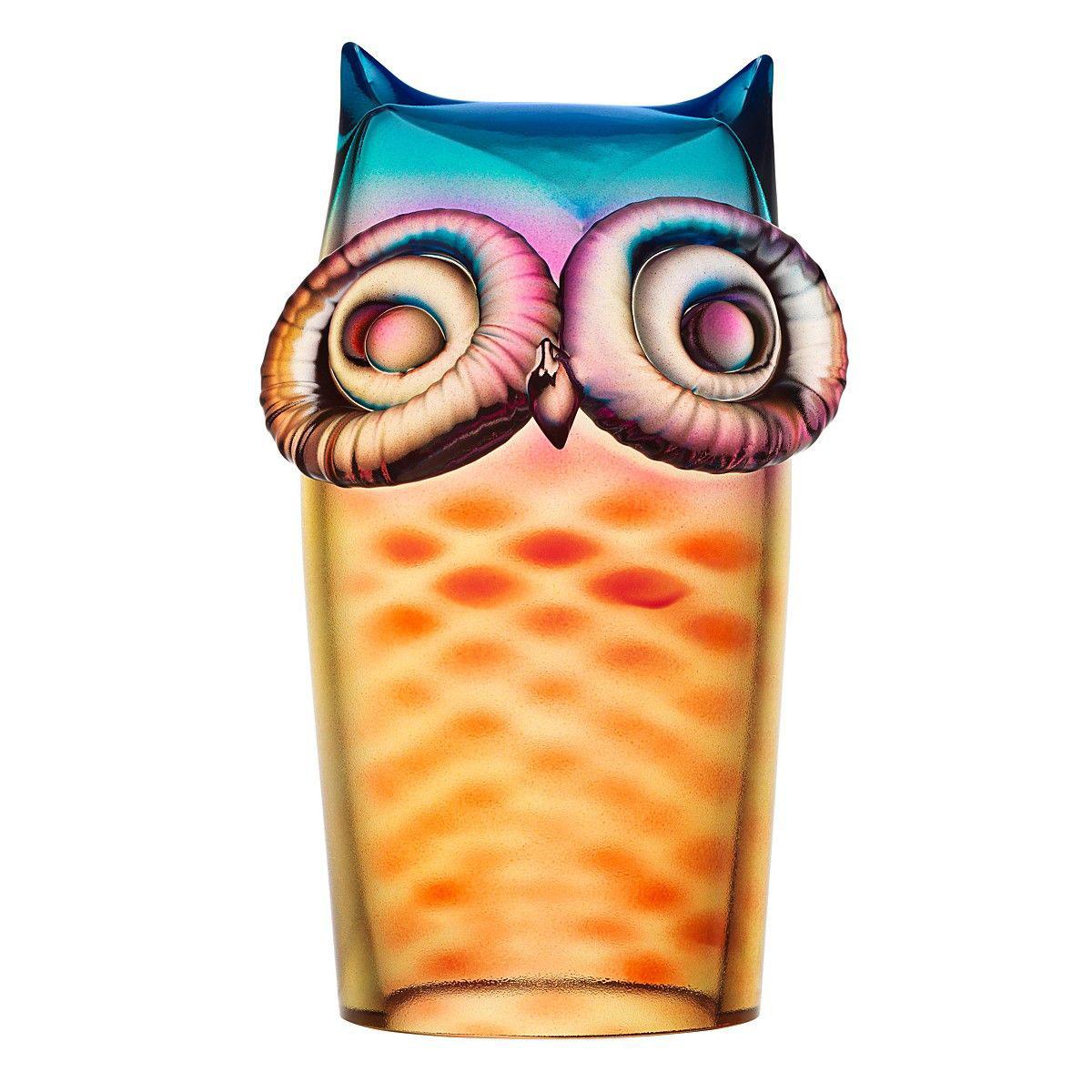 Obegi Home Accessories Kosta Boda My Wide Life Owl Sculpture