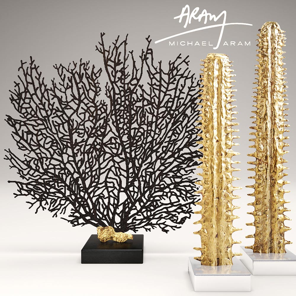 Obegi Home Accessories Michael Aram Sculpture Collection