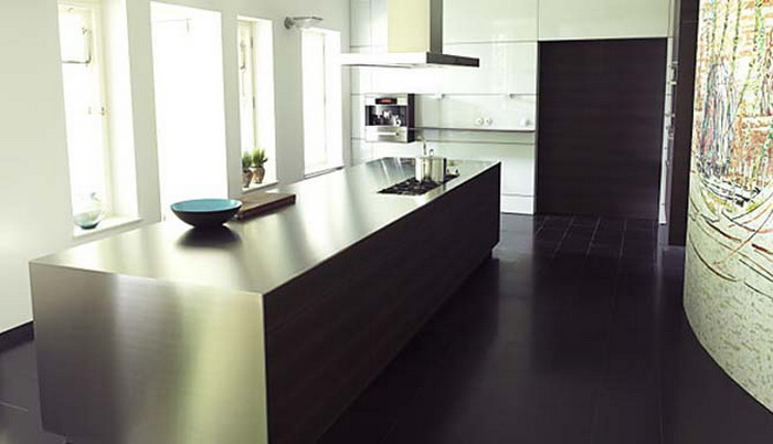 Obegi Home Bulthaup Kitchens Black White b3