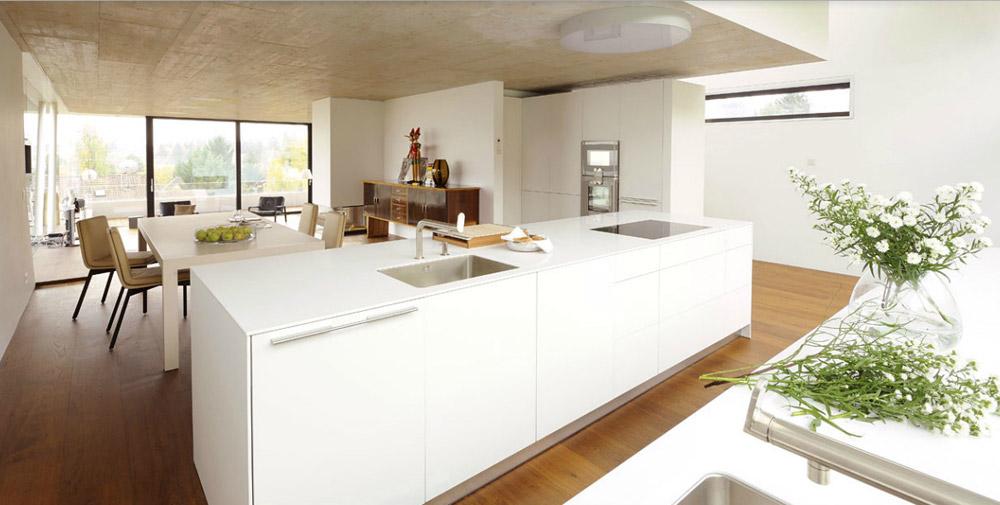 Obegi Home Bulthaup Kitchens Cuisine avec Mur en Pierre 12 Catalogue B3 F DesignBest 1000x505