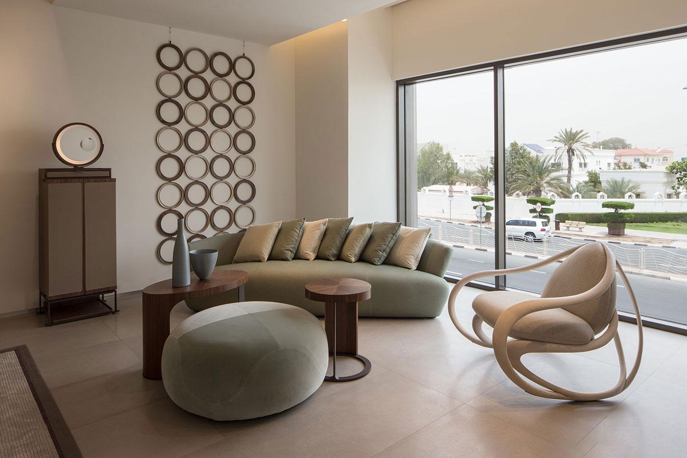 Obegi Home Exclusive Moods Showroom Giorgetti Area 2
