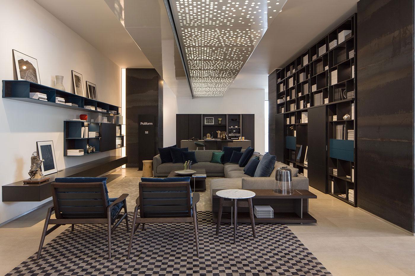 Obegi Home Exclusive Moods Showroom Poliform Area 3