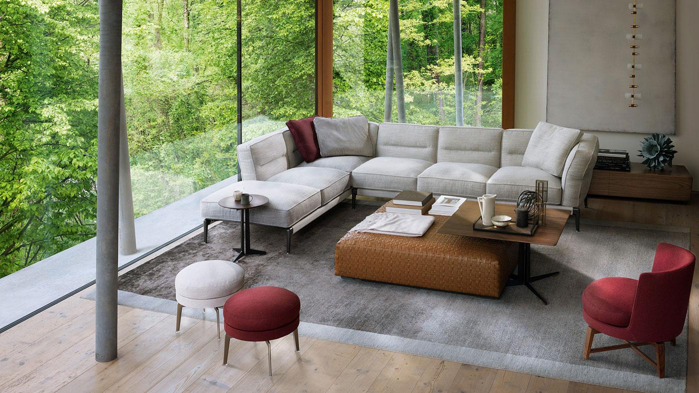 Obegi Home Furniture Flexform Area 1