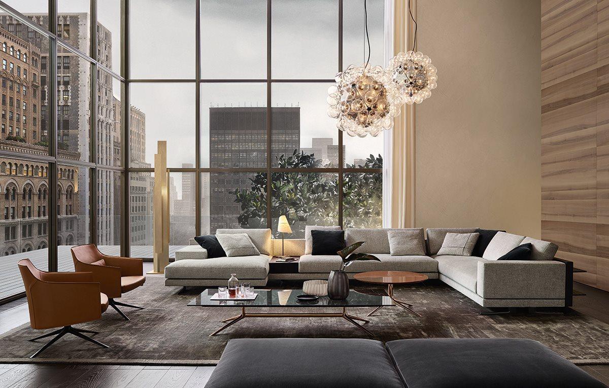 Obegi Home Furniture Poliform Living Room 3