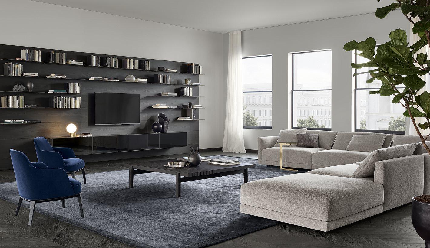 Obegi Home Furniture Poliform Living Room 5