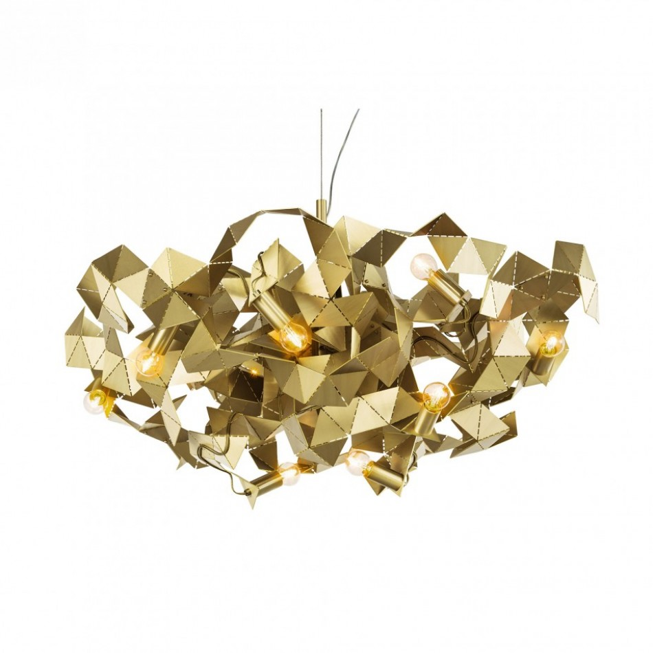Obegi Home Lighting Brand Van Egmond Fractal Kronleuchter