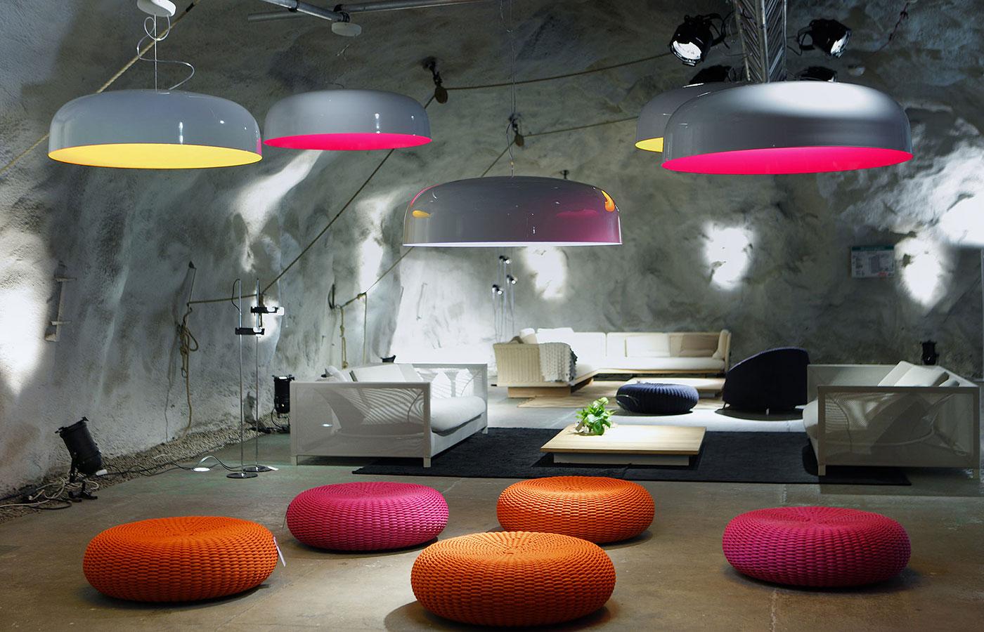 Obegi Home Lighting Oluce Canopy Ceiling Lamp