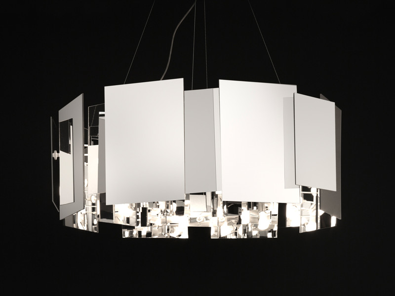Obegi Home Lighting Oluce Coroa Suspension Lamp