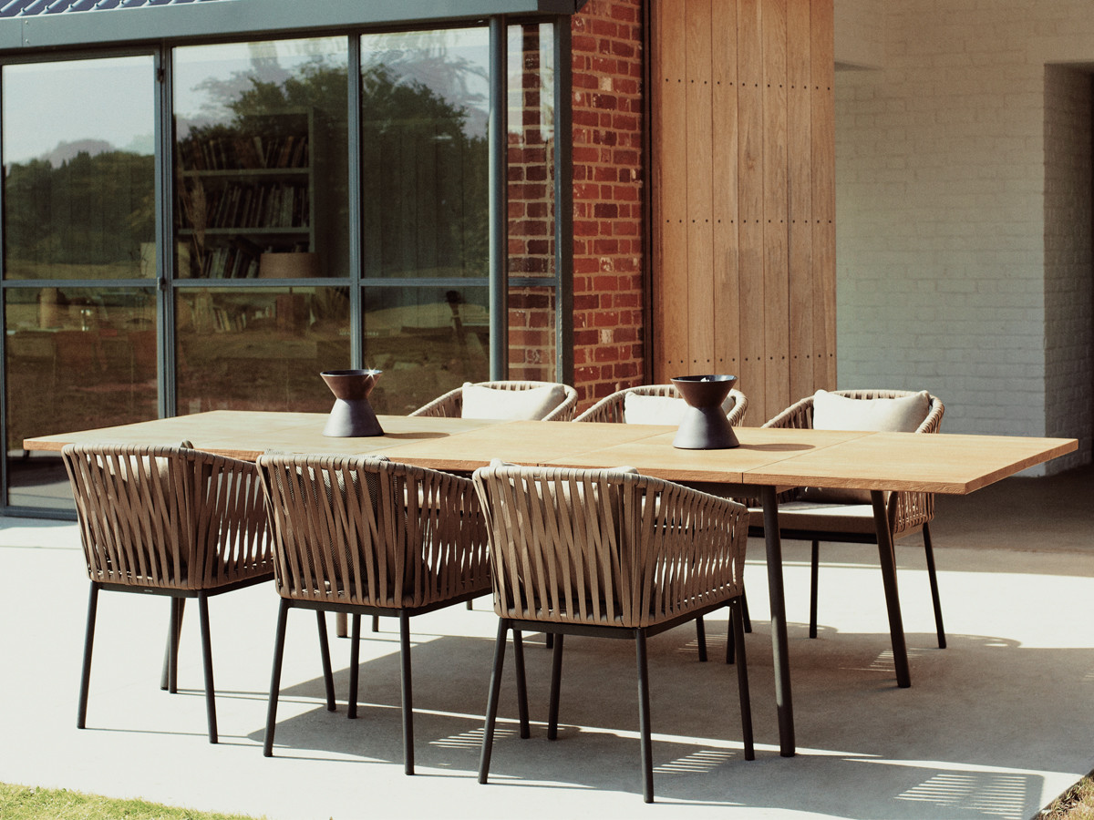 Obegi Home Outdoor Furniture Kettal Bitta Dining Table