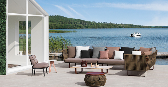 Obegi Home Outdoor Furniture Kettal Bitta Outdoor collection