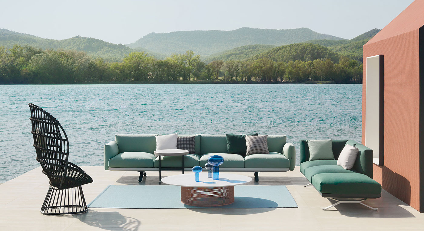 Obegi Home Outdoor Furniture Kettal Cala Collection 1