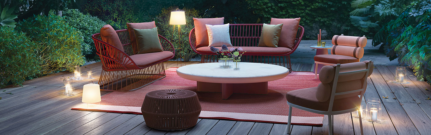 Obegi Home Outdoor Furniture Kettal Collection 1