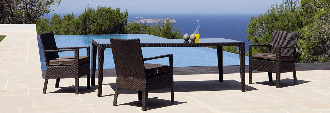 Obegi Home Outdoor Furniture Kettal Delta Collection