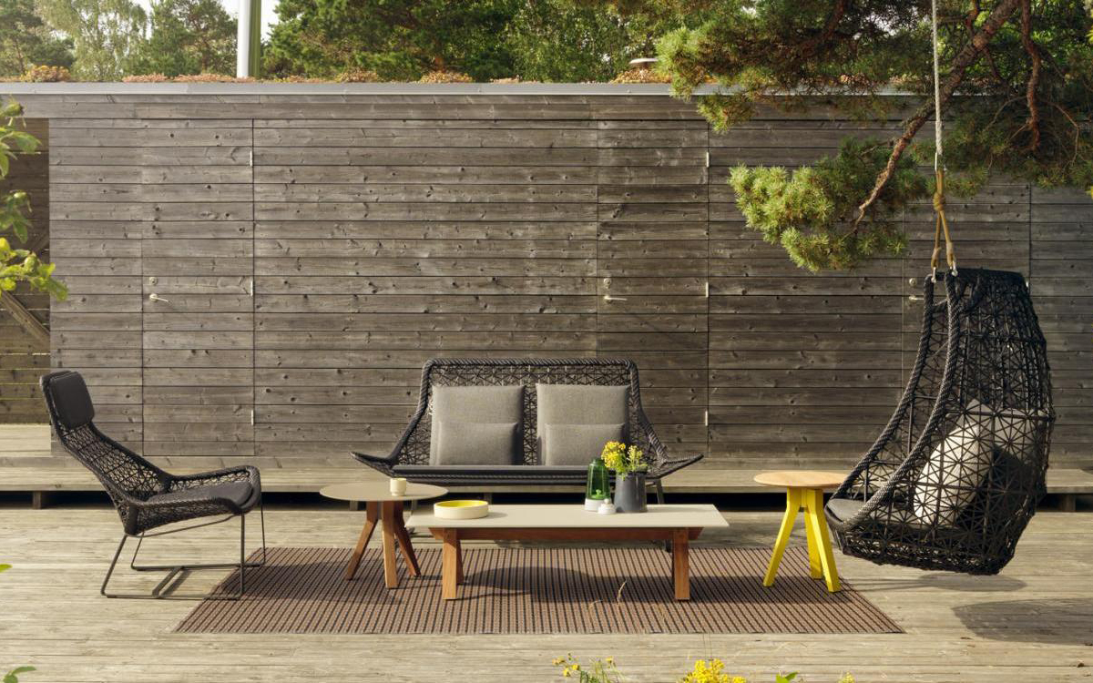 Obegi Home Outdoor Furniture Kettal Maia Rope Furniture Collection