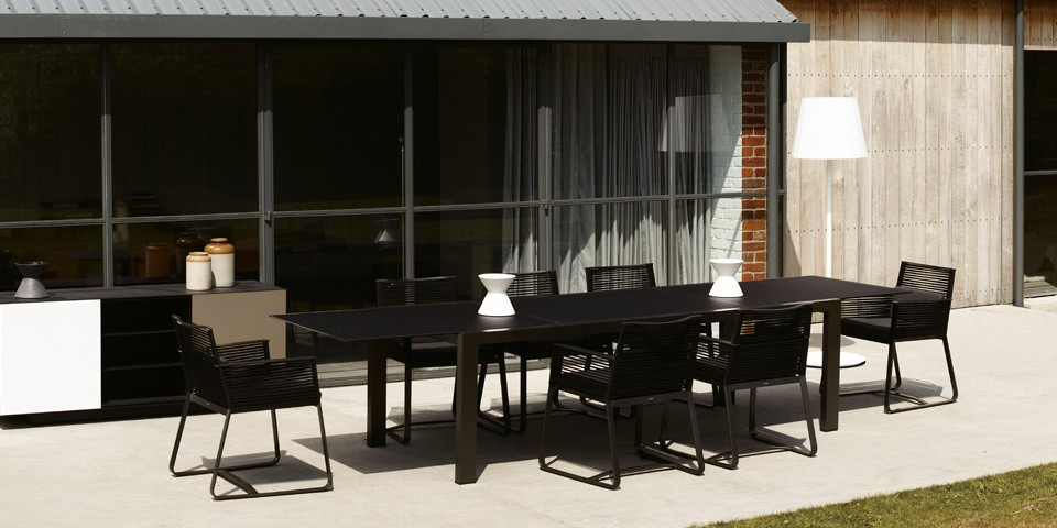 Obegi Home Outdoor Furniture Kettal Outdoor Dining Table
