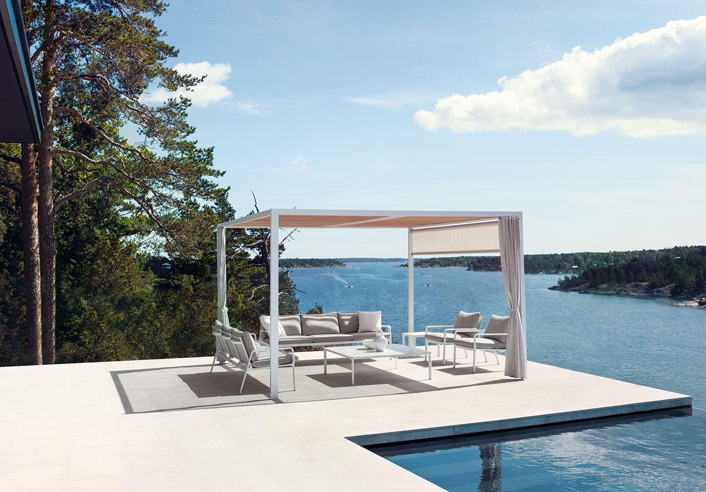 Obegi Home Outdoor Furniture Kettal Panorama
