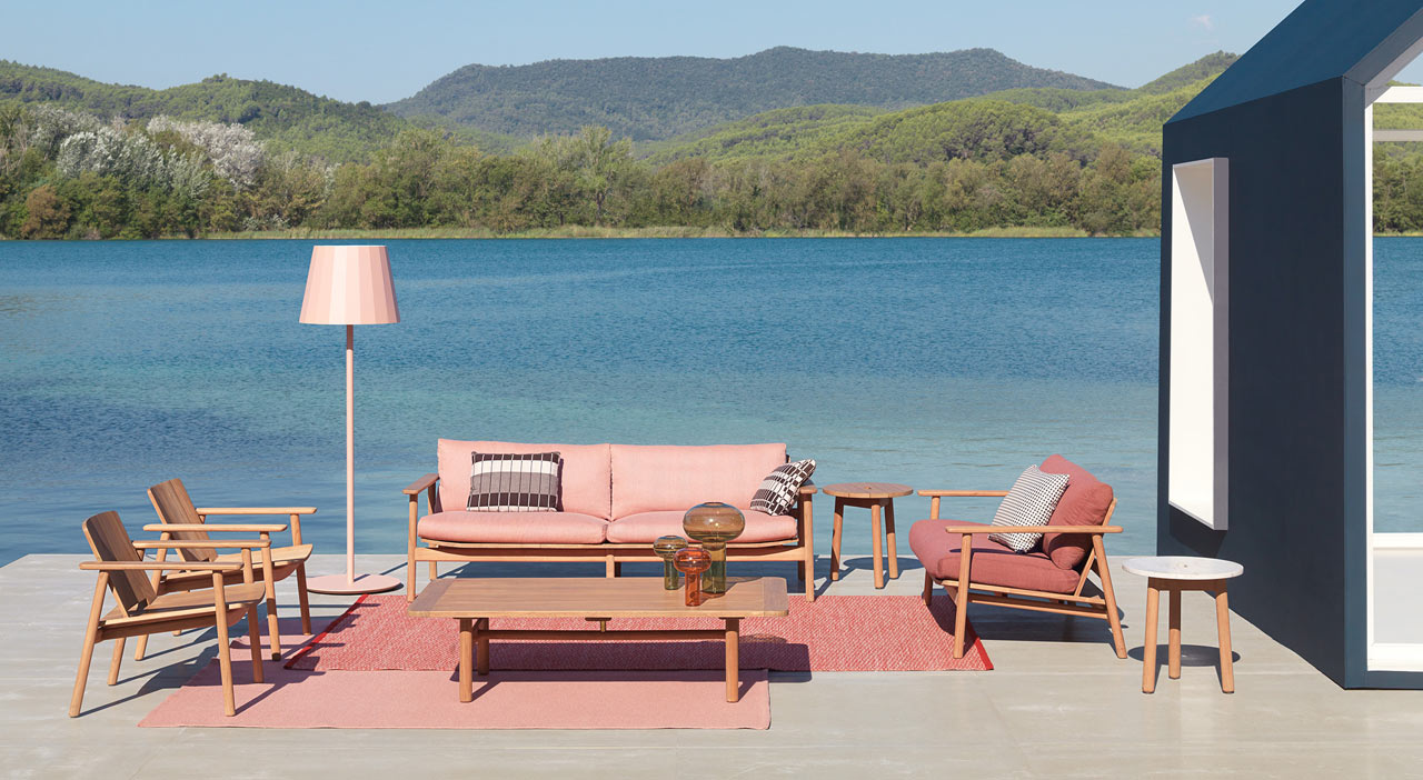 Obegi Home Outdoor Furniture Kettal Riva Collection