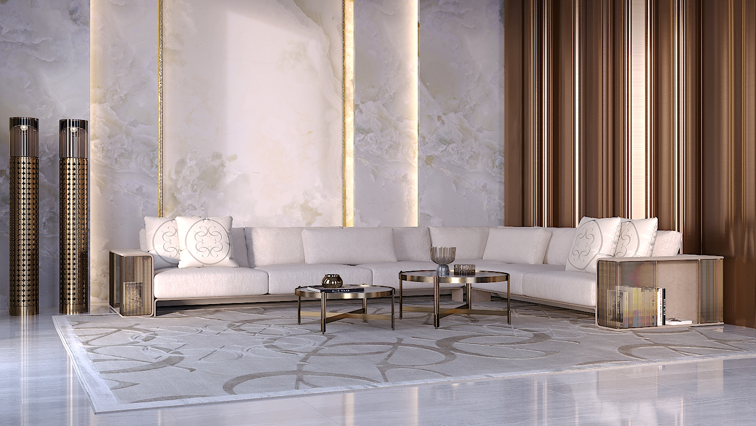 Elie Saab Maison | OBEGI Home | Italian Luxury Furniture Dubai