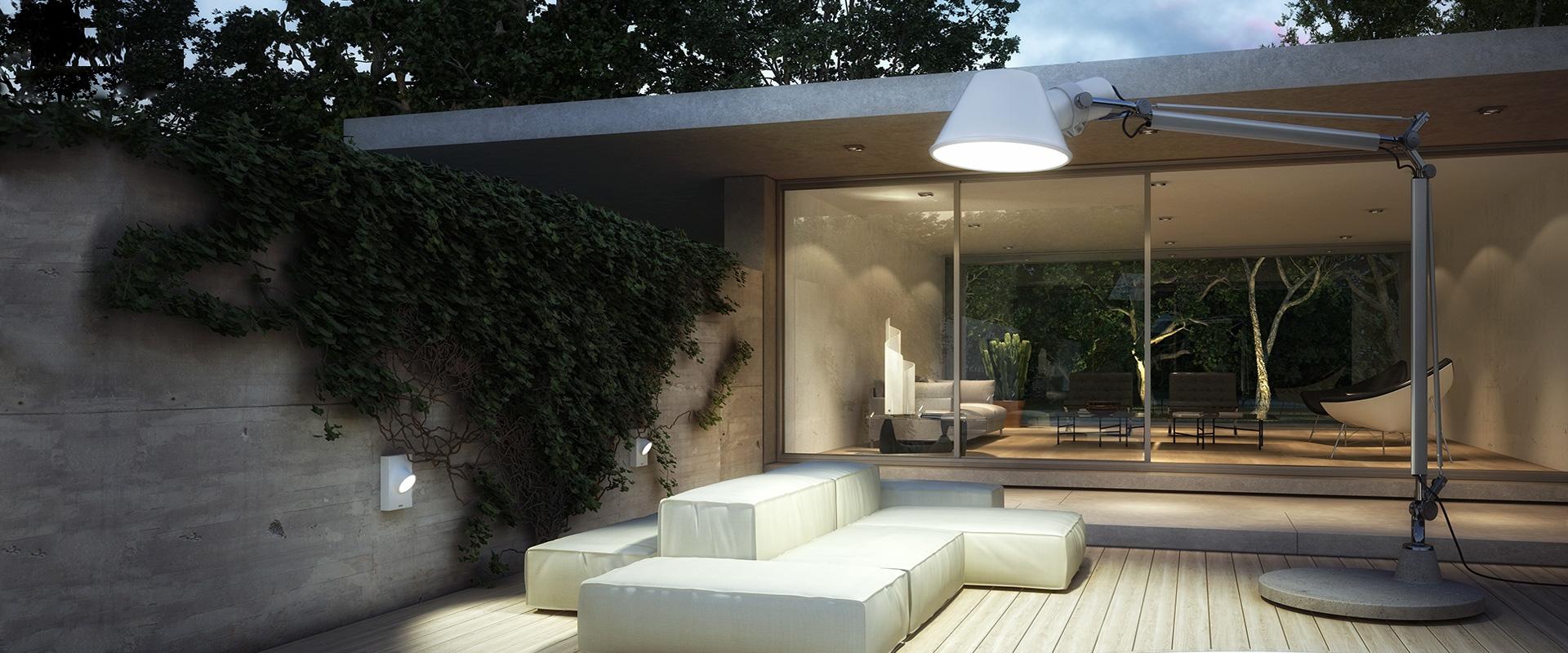 Obegi Home Artemide Outdoor Lamp Tolomeo