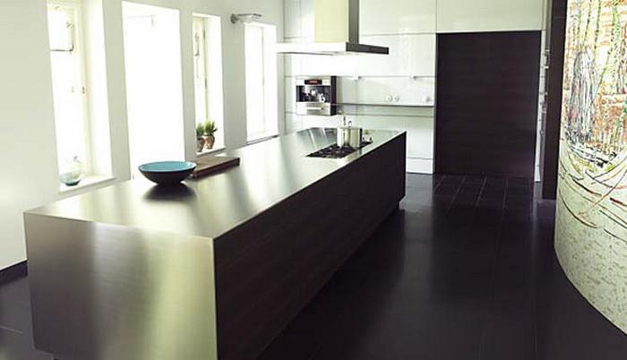 Obegi Home Bulthaup Kitchens Black White b3