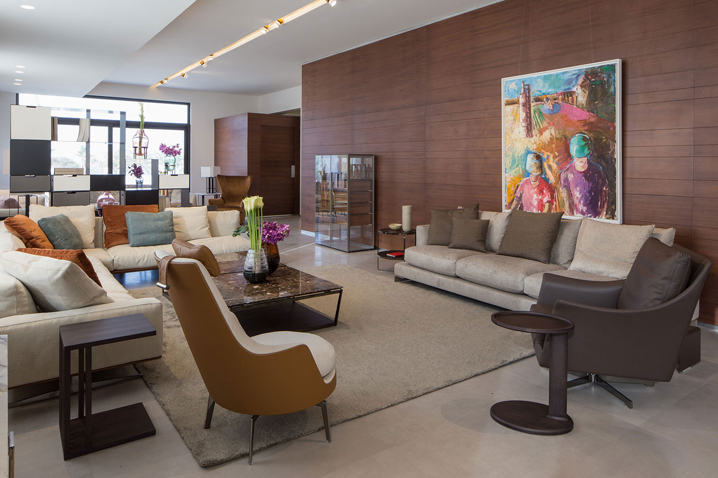 Obegi Home Exclusive Moods Showroom Flexform Area 1