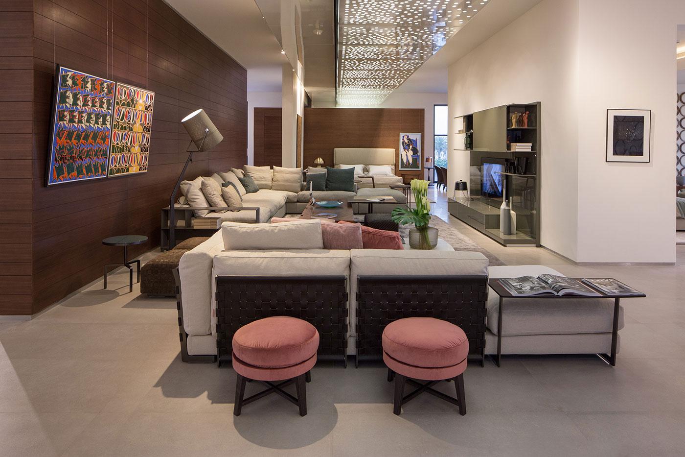 Obegi Home Exclusive Moods Showroom Flexform Area 2