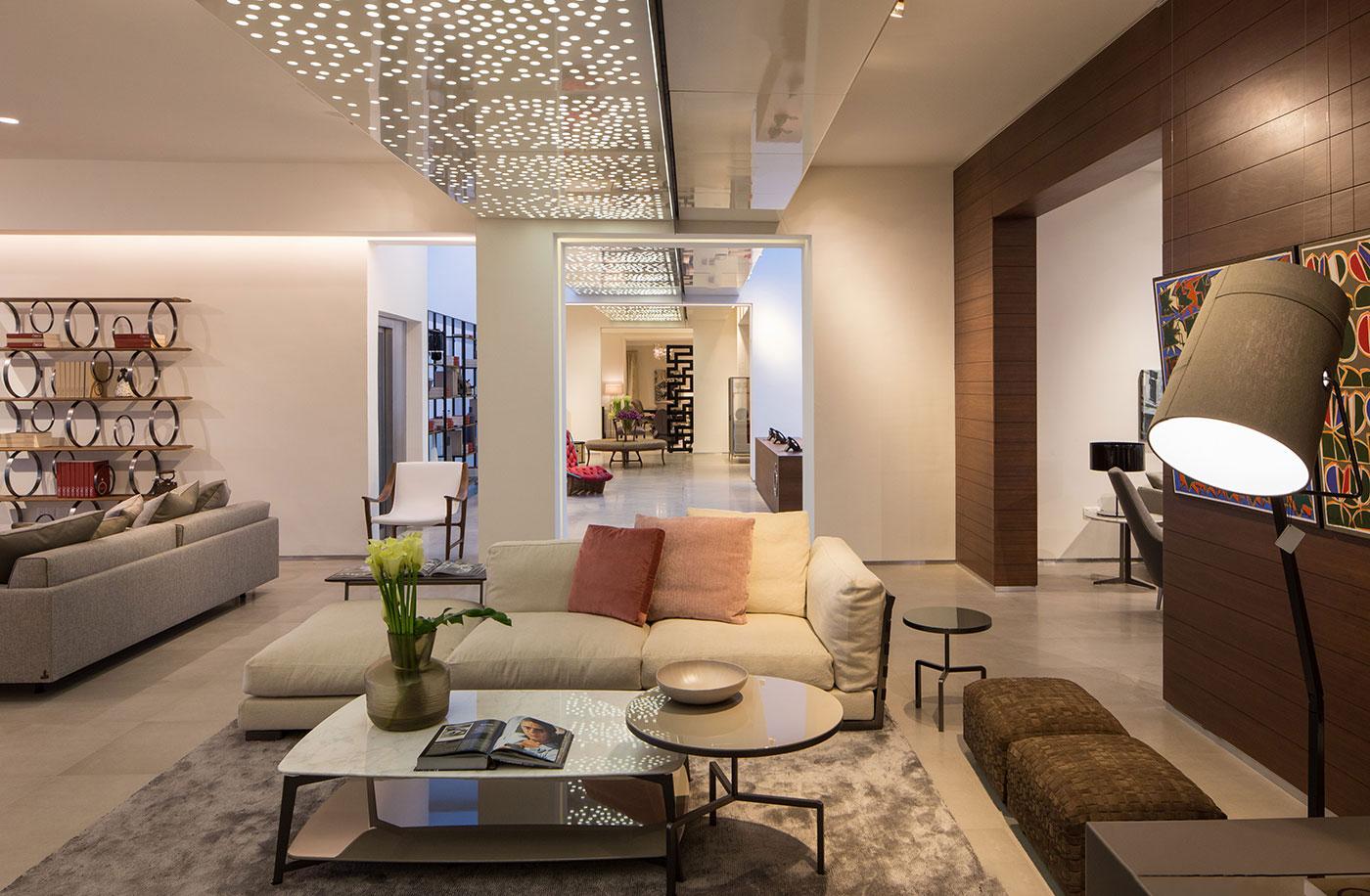 Obegi Home Exclusive Moods Showroom Flexform Area 3