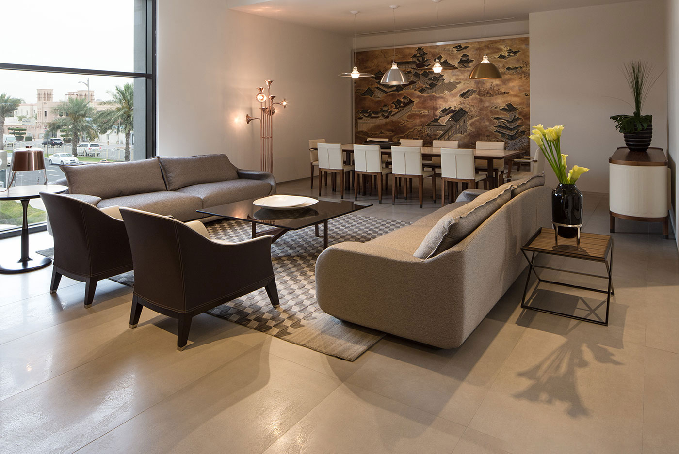 Obegi Home Exclusive Moods Showroom Giorgetti Area 3