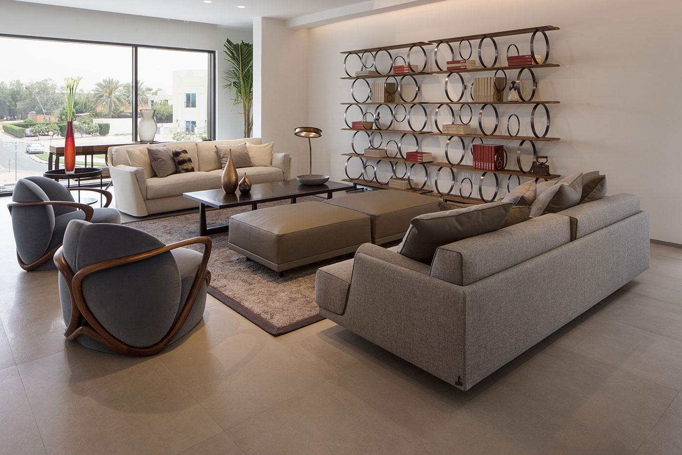 Obegi Home Exclusive Moods Showroom Giorgetti Area 6