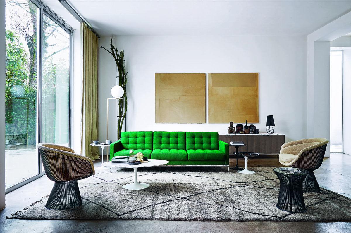 Obegi Home Furniture Knoll Chairs and Sofa 1