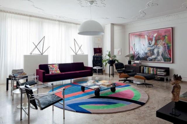 Obegi Home Furniture Knoll Living Room