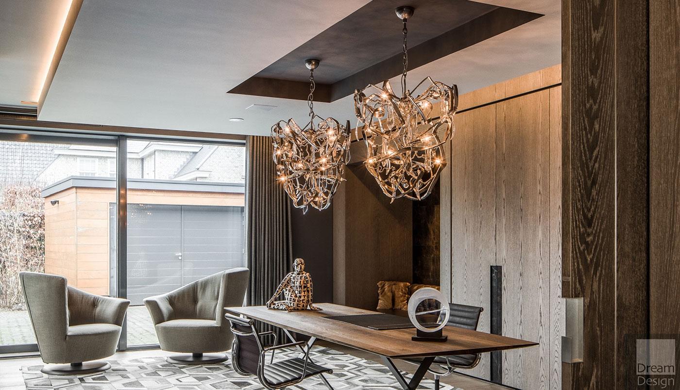Obegi Home Lighting Brand Van Egmond Delphinium Conical Chandelier