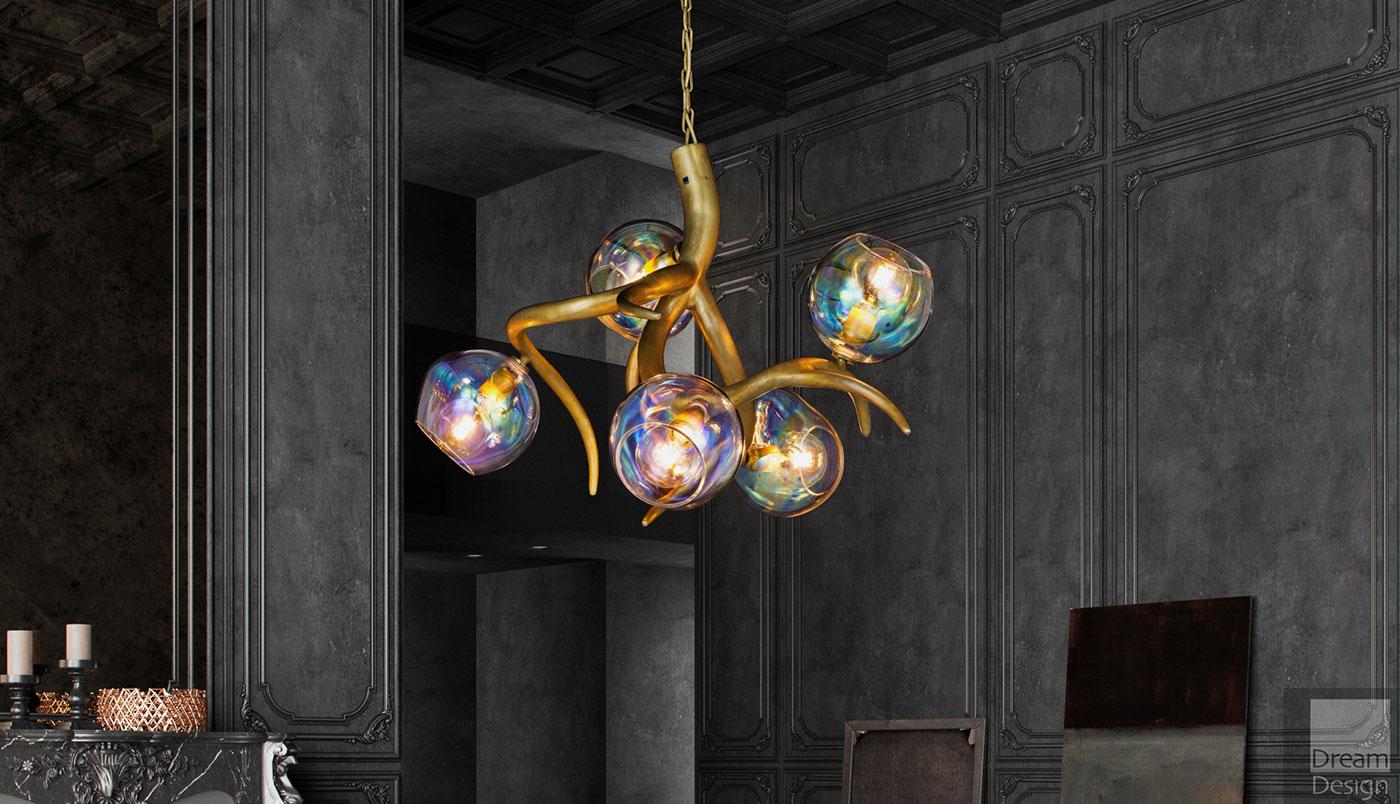 Obegi Home Lighting Brand Van Egmond Ersa 80 Chandelier 01