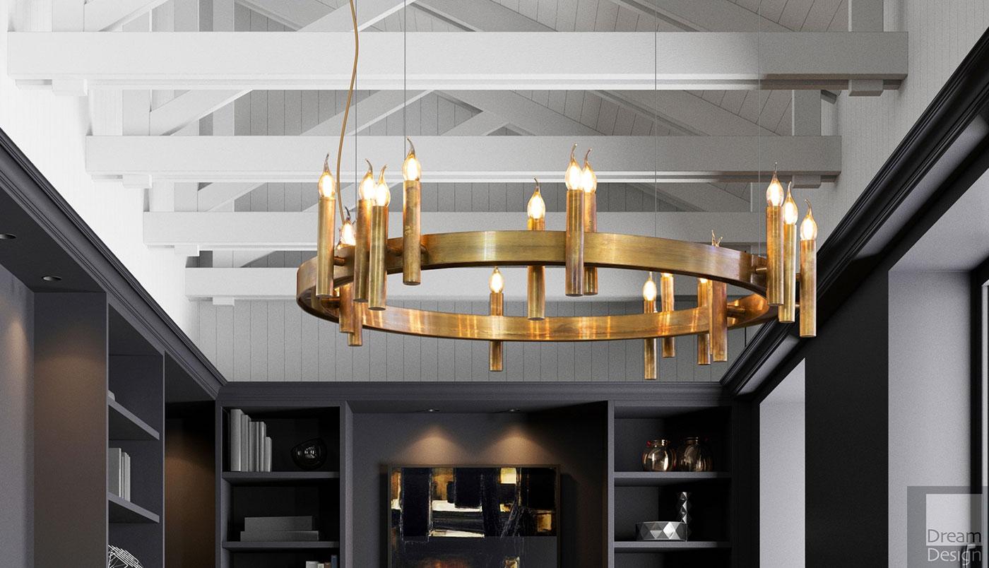 Obegi Home Lighting Brand Van Egmond Shiro Suspension Ring Light 01