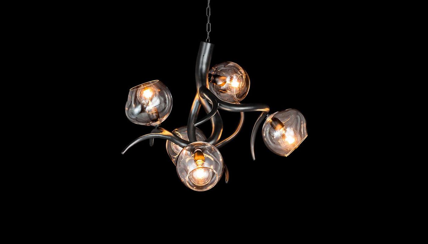 Obegi Home Lighting Brand Van Egmond black matt finish