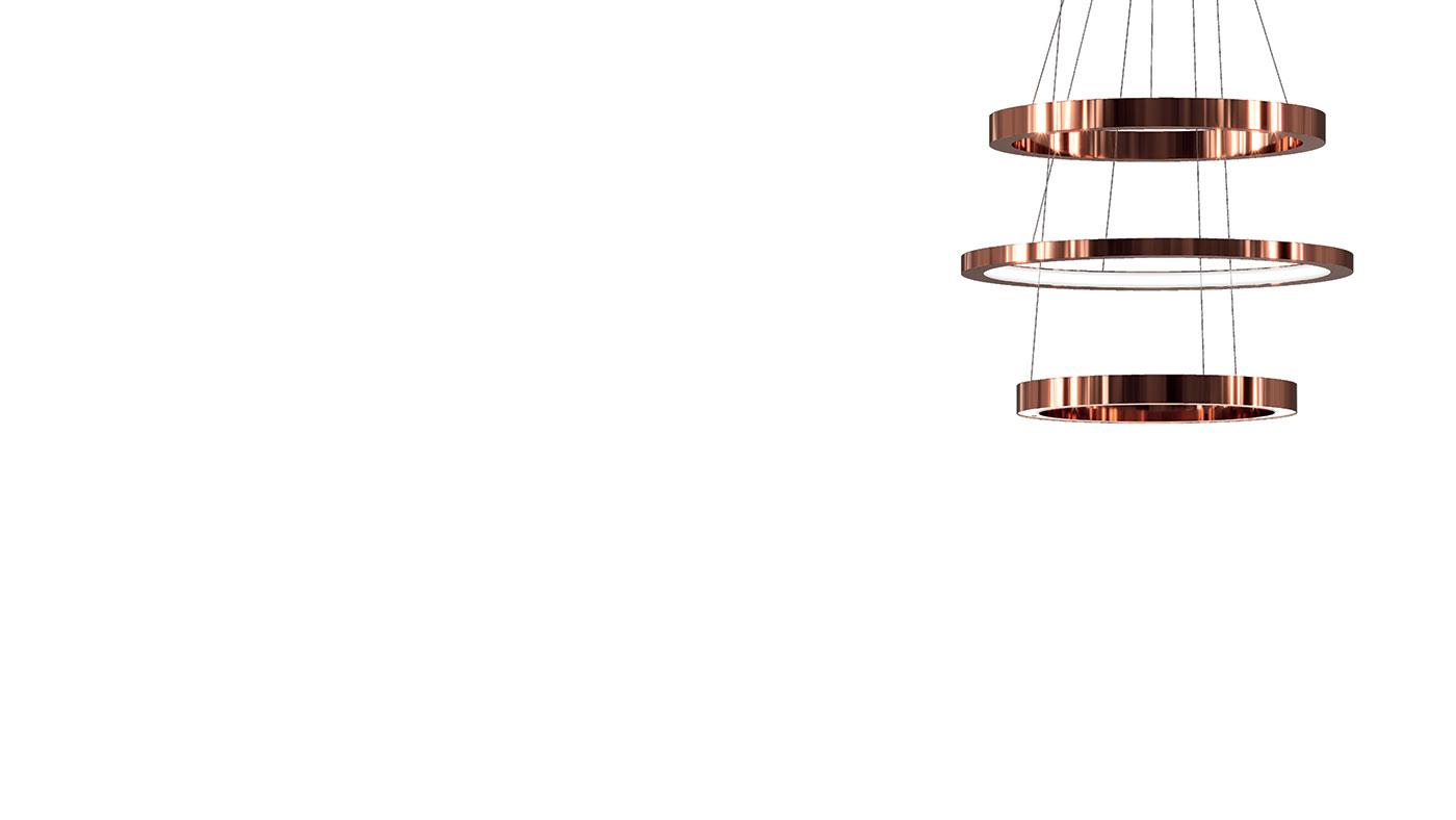 Obegi Home Lighting Henge Light Ring 2