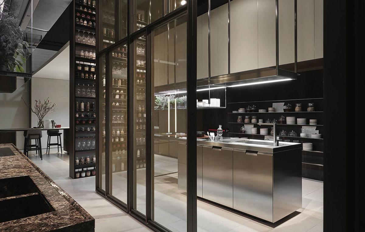 Obegi Home Poliform Kitchens Shape Ridotta