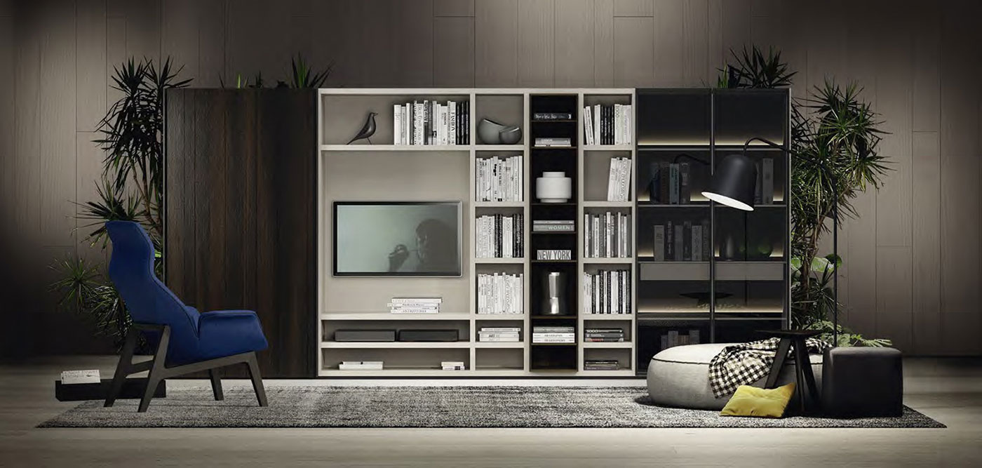 Obegi Home Wall Systems Poliform 5