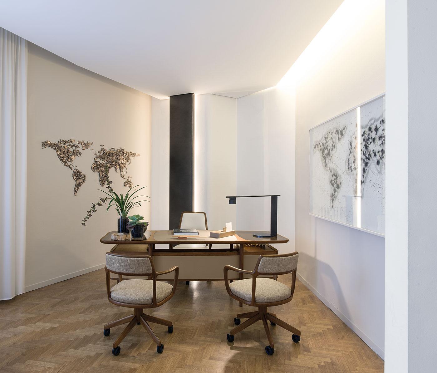 Obegi Home Working Space Giorgetti 2